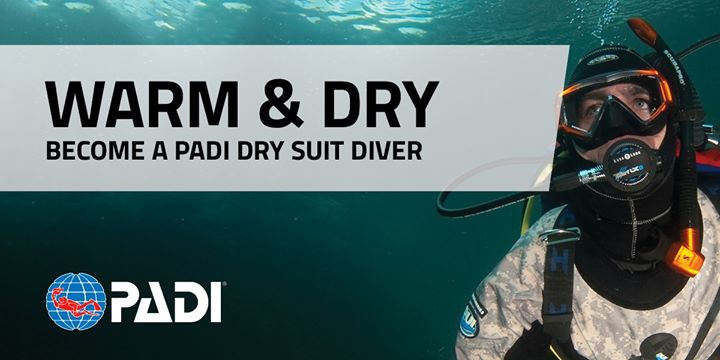 Rec2Tec Diving – PADI Dry Suit Open Water